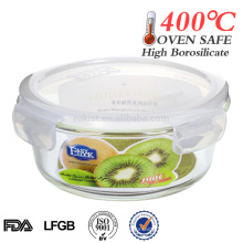 Wholesale large glass bowl with lid