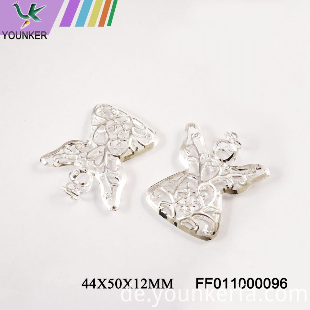 Led Light String Angel Shape Metal Ornaments