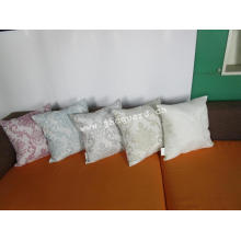 Cojines tejidos con lentejuelas para la decoración del hogar