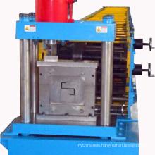 Maquina Roladora de perfil perfiles estructurales Z de acero galvanizado.