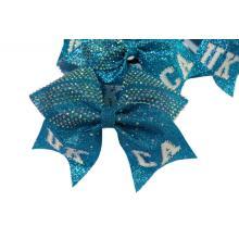 Custom Glitter Cheer Hair Bow For Babies
