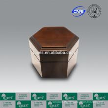 Urnen für Verkauf LUXES solide Pappel Holz Urn UN30 Feuerbestattung Urn