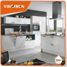 Sample available factory directly prefab white kitchen cupboard