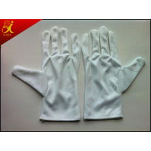 Material algodón Bleach guantes de trabajo