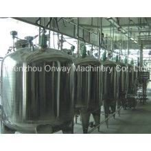 Pl Jacket Emulgator Mischen Tank Öl Mischen Maschine Mischer Zucker Lösung Edelstahl Mischen Tank Preis