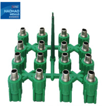 Plastic injection ppr pipe fitting mould