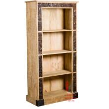 Caja de libro tallada de madera