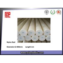 Varilla de plástico de nylon de color natural de alta densidad