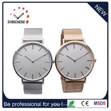 Reloj de estilo clásico de acero inoxidable, reloj de hombre de cuarzo