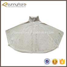 Camisola de caxemira padrão de malha de inverno de moda, camisola de xaile pashmina