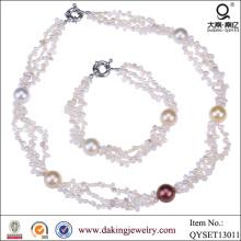 Горячая продажа ожерелье и браслет ювелирных изделий Оптовая новые продукты