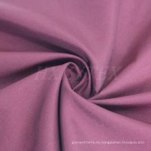 Nylon brillante con tejido de mezcla de poliéster para chaqueta o trinchera