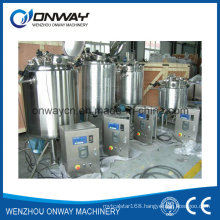 Pl Stainless Steel Jacket Emulsification Mixing Tank Computerized Paint Mixing Machine Oil Blending Equipment