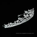 Großhandel gute Qualität Hochzeit Handkleid Kristall Braut Tiara Krone Braut Kopfbedeckung neues Design für Abschlussball