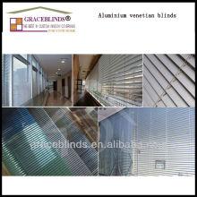 25MM Aluminium slats ladder string wand tilt 25mm aluminum blinds