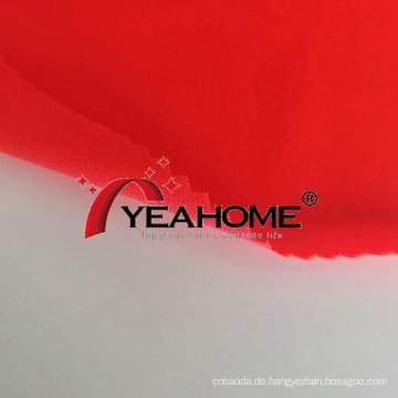 Bright Poly Knitted Elastic Fabric Staubdichtes Bezugsmaterial