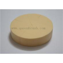 Éponge en poudre de cellulose à la forme ronde