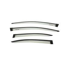 window visor car door window deflector visor