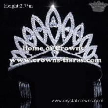 Unique Crystal National Pageant Queen Tiaras