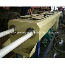 Экструзионная линия для производства двухтрубных пластиковых труб из ПВХ 16-63 мм