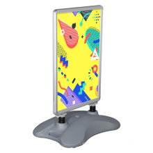 Hot Sale Best Price Double Sided Water Base Pavement Sign Snap Frame Poster Board For Advertising