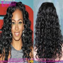 Оптовая Qigndao Бразильский Поставщик Волос Парик,Вьющиеся Дешевые Парики Человеческих Волос Для Черных Женщин