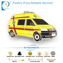 MPV Auto Pin Abzeichen in Gelb für Geschenk