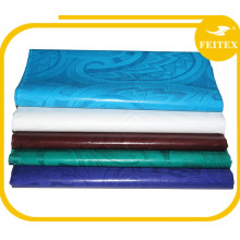 Tissu de coton africain bazin riche en tissu pour robe Tissu de broderie Feitex