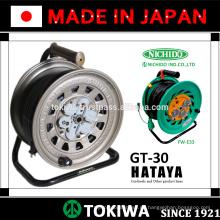HATAYA & NICHIDO gefertigte Schnurrolle mit hoher Anpassungsfähigkeit an Arbeitsumgebungen (Verlängerungskabelrolle)