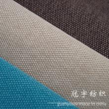 Synthetisches Leinengewebe, das mit verschiedenen Arten der Unterstützung für Dekoration verbunden ist
