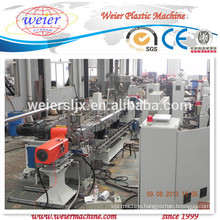 PET underwater pelletizing manufacturing machine/making machine