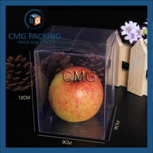 High End Pet Transparent Food Packing Box with No Printing (CMG-PVC-024)