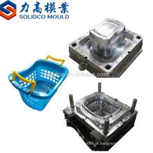 Injeção nova de Taizhou com o molde plástico da cesta da fruta do punho