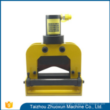 Professional Design Hydraulic Tools Busbar Stretching Bench Cnc Hydraulic Punching Press Flat Copper Bar Bending Machine