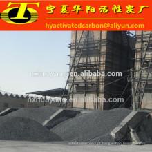 Carvão ativado com casca granular de porca para purificação de água potável