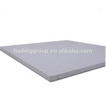 Panel de pared con clasificación de incendio y placa de silicato de calcio en el techo