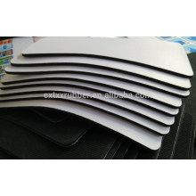 white sublimation mouse pad, white mouse pad for printing, 6mm thick mouse pad