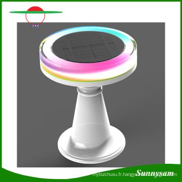 Couleur Changeante Télécommande IP65 Étanche Décoratif Solaire LED Lumière Solaire Bureau Lumière Restaurant Solaire Lampe de Table