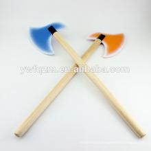 Novo design crianças brinquedos de madeira brinquedo colorido machado
