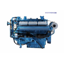 12 Cylinder, 330kw, Shanghai Dongfeng Diesel Engine for Genset