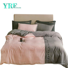 Hot Sale Homestay Solid Color New Product Polyester Embroidery Bedding Set