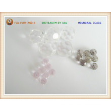 Faceted Glass Ball (S045)