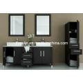 Double Sink Solid Wood Modern Bathroom Vanity (BA-1123)