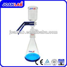 Aparelho de filtração de vácuo de vidro JOAN Laboratory com grampo de alumínio