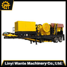 Price for tire movable coal mobile stone crusher