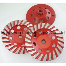 "Stone Diamond Tool Marble/ Concrete/ Granite 4"" Grinding Cup Wheel"