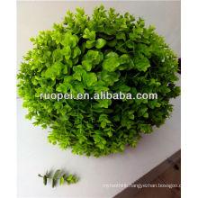 outdoor green atificial grass roller balls