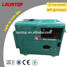5.5kw Launtop Silent Dieselgenerator mit 188F Motor (474ccm) mit elektrischem Start