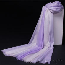 bufanda del chal de las mujeres coloridas súper delgadas