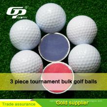 Высокое качество мяч для гольфа на турниры 2/3/4 шт surlyn и ПУ мячи для гольфа